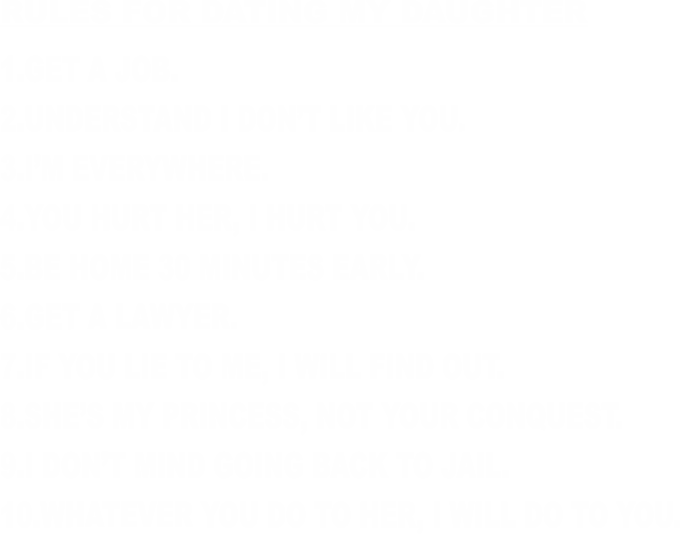 my daughter is dating someone i dont like match online dating tips
