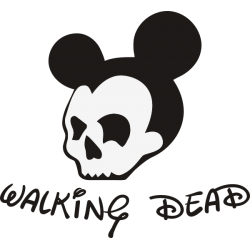 Walking Dead Mickey Mouse