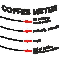 "Cana ""Coffee meter"""