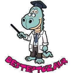 """Cana """"Desteptozaur"""""""