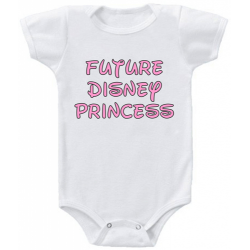 "Body bebelus ""Future Disney Princess"""
