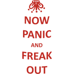 "Cana ""Now panic and freak out"""
