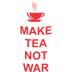 "Cana ""Make Tea Not War"""
