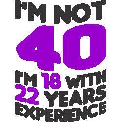 "Cana ""I'm not 40 """