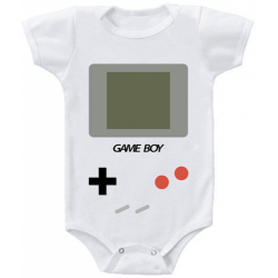 "Body bebelus ""Game Boy"""