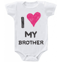 "Body bebelus ""I love my brother"""