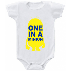 "Body bebelus ""One in a minion"""