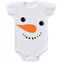 "Body bebelus ""Snowman"""