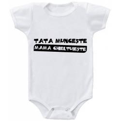 """Body bebelus """"Tata Munceste"""""""