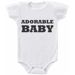 "Body bebelus ""Adorable Baby"""