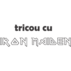 Tricou cu Iron Maiden