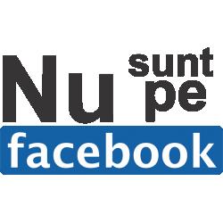 Nu sunt pe facebook