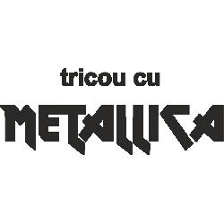 Tricou cu Metallica