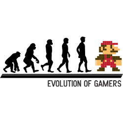 Evolution of gamers - Super Mario