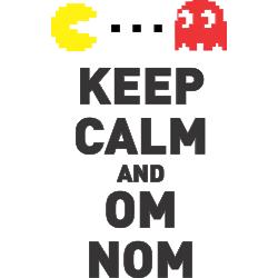 Keep calm and om nom