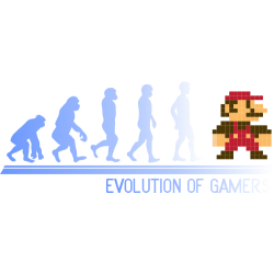 Evolution of gamers - Super Mario