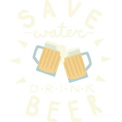 Save Water Drink Beer II