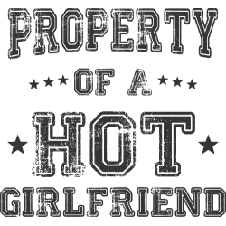 Property of a hot girlfriend