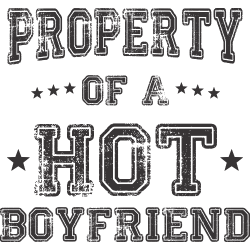 Property of a hot boyfriend