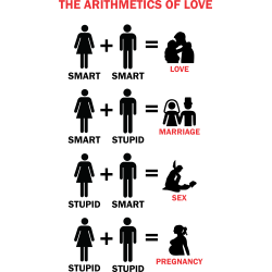 The Arithmetics Of Love