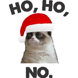 Ho, ho, no.