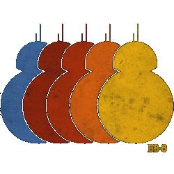 Rainbow BB-8