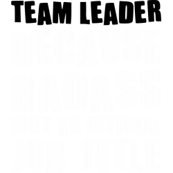 Tricou Team Leader