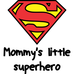 Mommy's little superhero