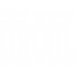 Little brothers drool