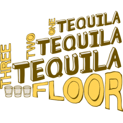 One tequila, two tequila, three tequila