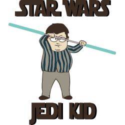 Star Wars Jedi Kid