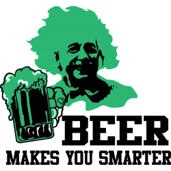 Beer makes you smarter