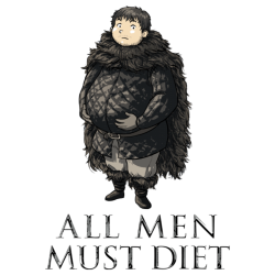 All men must diet