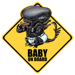 Baby alien on board