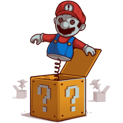 Mario In The Box