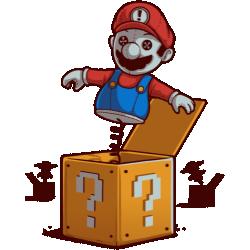 Mario In The Box