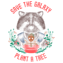 Save the galaxy plant a tree