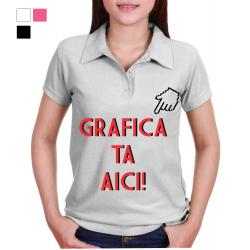 Tricou dama POLO personalizat