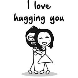 I Love Hugging You