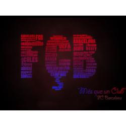 """Cana FC Barcelona """"Mes que un Club"""""""