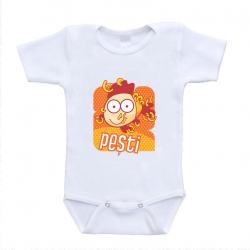 "Body bebelus cu zodie ""Pesti"""