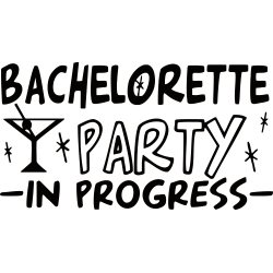 Bachelorette Party In Progress