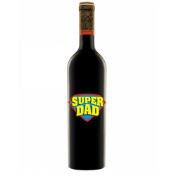 "Vin ""La Cetate"" Personalizat - ""Super Dad"""