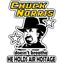 Chuck Norris Doesn't Breathe