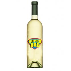 """Vin """"Maiastru"""" Personalizat - """"Super Dad"""""""