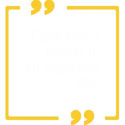 If god didn't create it