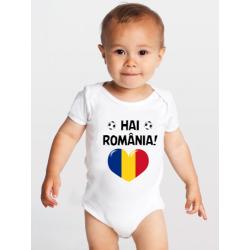 "Body bebelus ""Hai Romania!"""