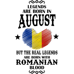 Real Legends Are Born In August