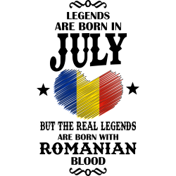 Real Legends Are Born In July