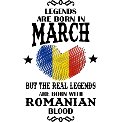 Real Legends Are Born In March